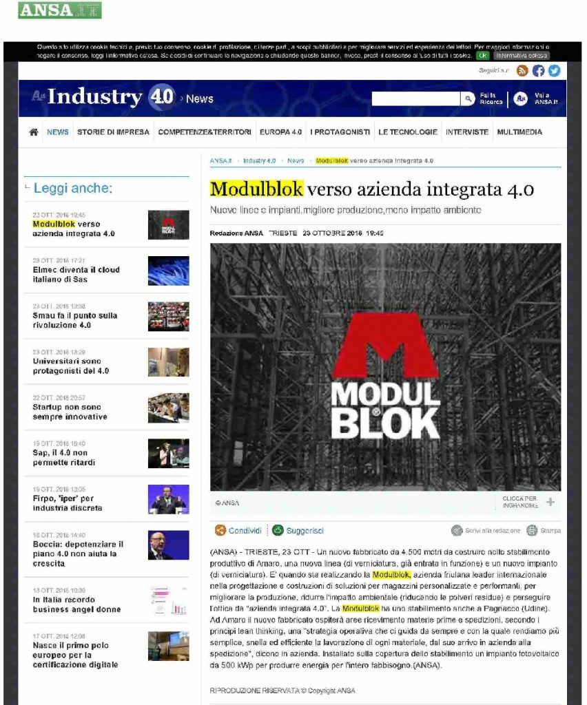 Articolo Modulblok