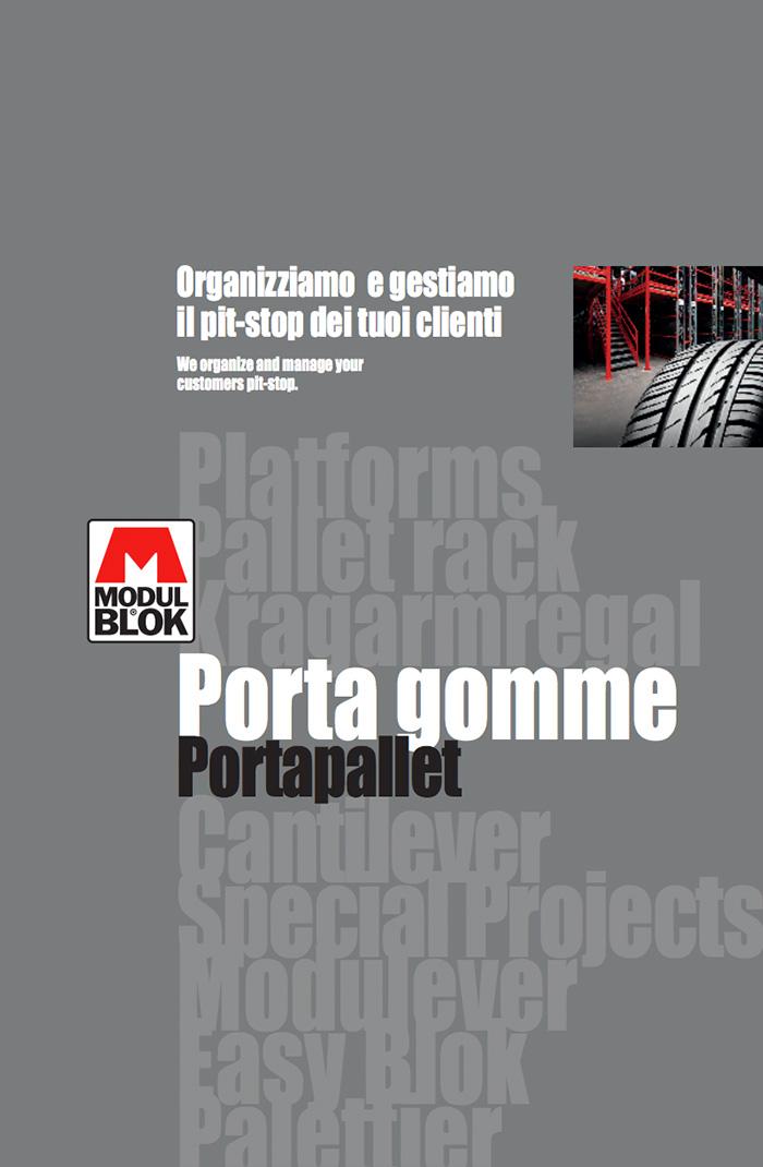 Cover brochure Modulblok Portagomme