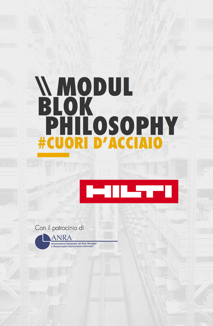 Locandina Modulblok philosophy / Hilti